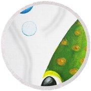 Betta Bubble Round Beach Towel