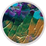 Beyond Dreams Round Beach Towel