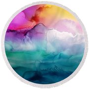 Beyond Round Beach Towel