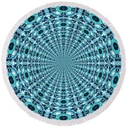 Beyond Time And Space Round Beach Towel