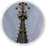 Big Ben Top Round Beach Towel