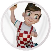 The Big Boy Round Beach Towel