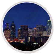 Big D Pano 61316 Round Beach Towel