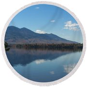 Bigelow Mt View Round Beach Towel