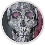 Billie's Skull Round Beach Towel