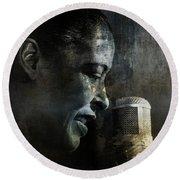 Billie Holiday - All That Jazz Round Beach Towel