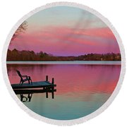 Billington Sea Perfection Round Beach Towel by Amazing Jules