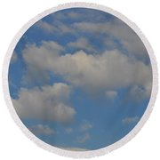 Billow Round Beach Towel