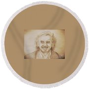 Billy Connolly Round Beach Towel