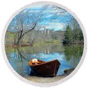 Biltmore Reflections Round Beach Towel