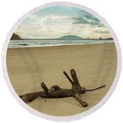 Binh Hai Beach, Quang Ngai Round Beach Towel