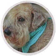 Binkley Round Beach Towel