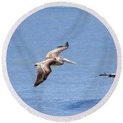 Birds 1039 Round Beach Towel
