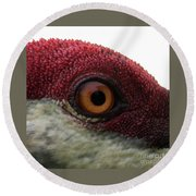 Birds Eye Round Beach Towel