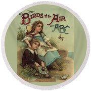 Birds Of The Air Round Beach Towel by Reynold Jay