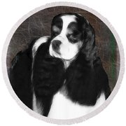 Black And White Cookie Round Beach Towel by EricaMaxine  Price