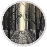Black Forest  Round Beach Towel