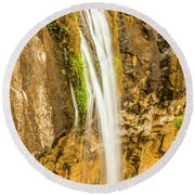 Blackwood Forest Waterfall Round Beach Towel