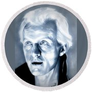 Blade Runner Roy Batty Round Beach Towel