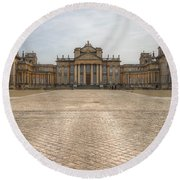 Blenheim Palace Round Beach Towel