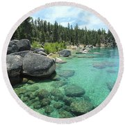 Bliss Abyss Round Beach Towel