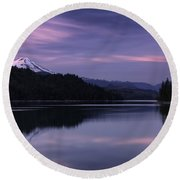 Bliss With Baker Round Beach Towel