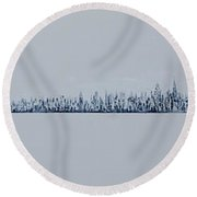 Blizzard 2011 Round Beach Towel