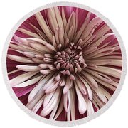 Bloom Of Pink Round Beach Towel