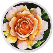Blooming Marvellous Round Beach Towel