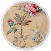 Blossom Series No.4 Round Beach Towel
