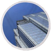 #blue #buildings And #blueskies. I Have Round Beach Towel