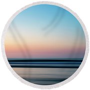 Blurred Round Beach Towel