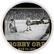 Bobby Orr 6 Round Beach Towel