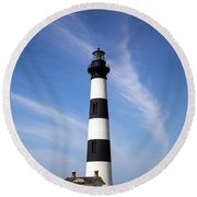 Bodie Light Round Beach Towel