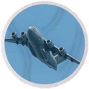 Boeing C-17 Globemaster IIi Round Beach Towel
