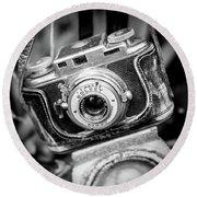 Bolsey B Rangefinder Camera Round Beach Towel