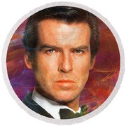 Bond - James Bond 5 Round Beach Towel