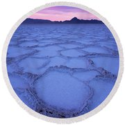 Bonneville Round Beach Towel by Dustin LeFevre