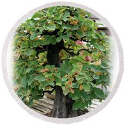 Bonsai1 Round Beach Towel