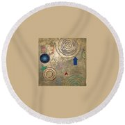 Boogie 3 Round Beach Towel