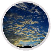 Boojum Sunset Round Beach Towel