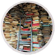 Books For Sale Round Beach Towel
