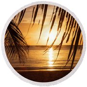 Boracay Philippians 5 Round Beach Towel