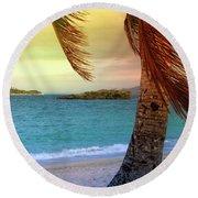 Boracay Philippians 6 Round Beach Towel