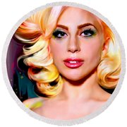 Born This Way, Lady Gaga Round Beach Towel