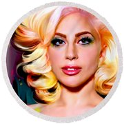 Born This Way, Lady Gaga Round Beach Towel