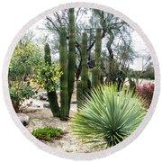Borrego Botanical Garden Round Beach Towel