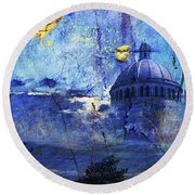 Boston Strong Round Beach Towel