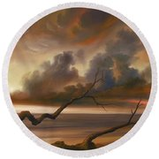 Botany Bay Round Beach Towel