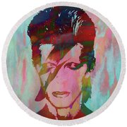 Bowie Reflection Round Beach Towel
